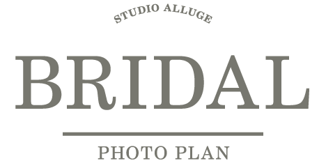 STUDIO ALLUGE BRIDAL PHOTO PLAN